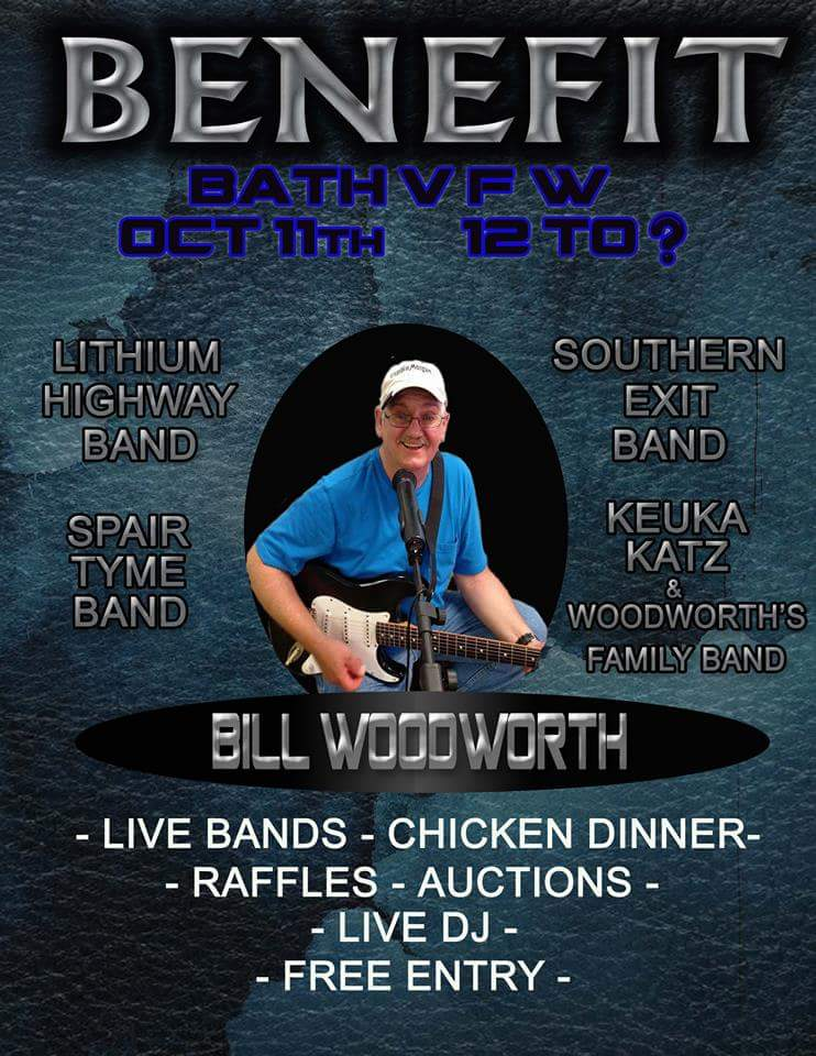 Bill Woodworth Benefit